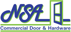 NSA Commercial Door and Hardware Logo